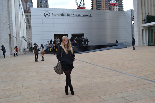 Kristin Clark at Fashion Week