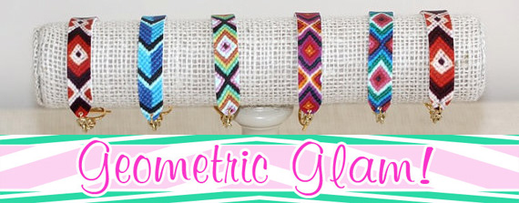 Living In Color Print Geometric Glam Giveaway