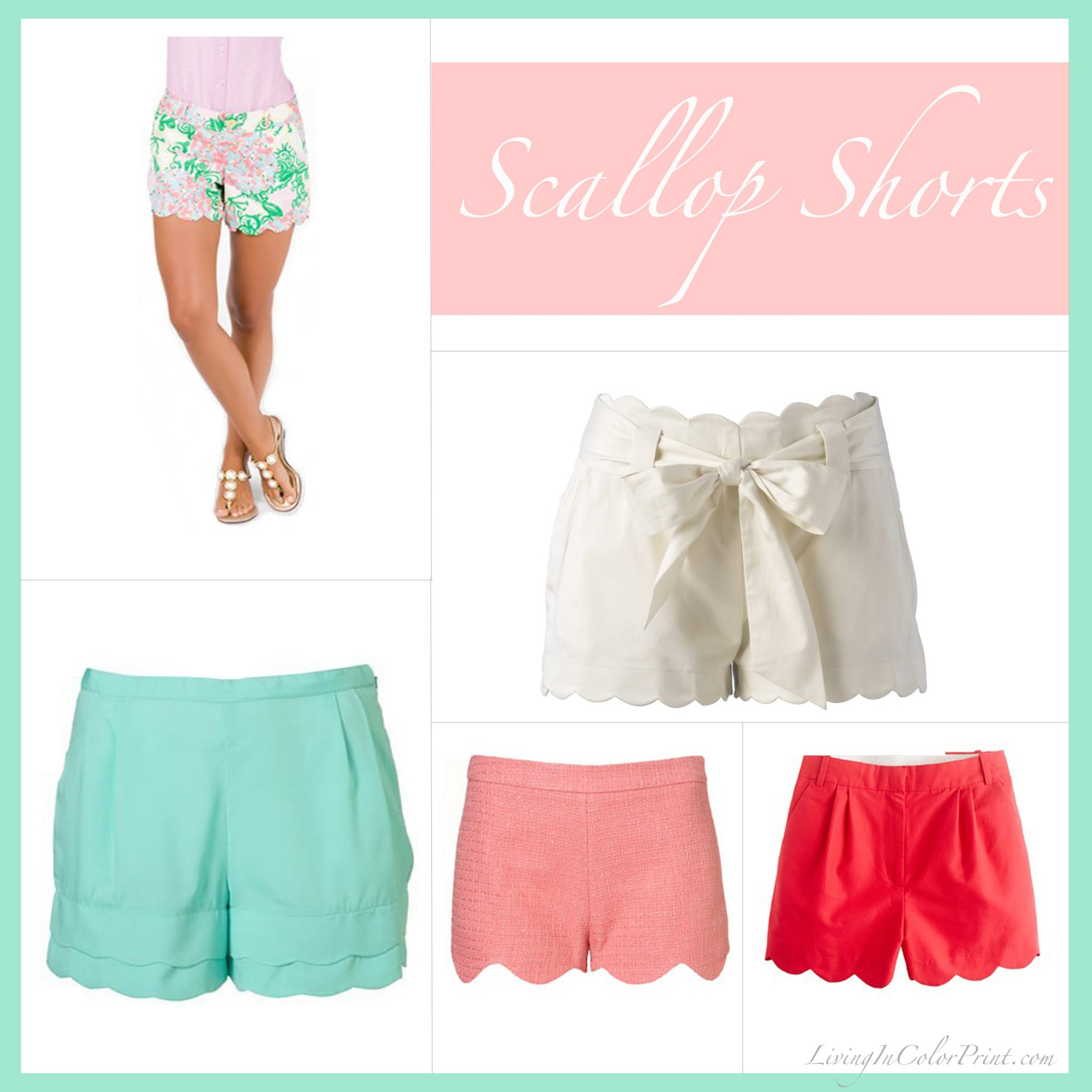 Scallop Shorts Trend