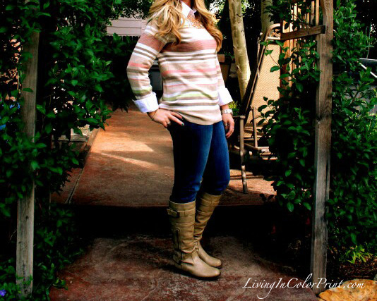 Colorado Style Sweater and Boots