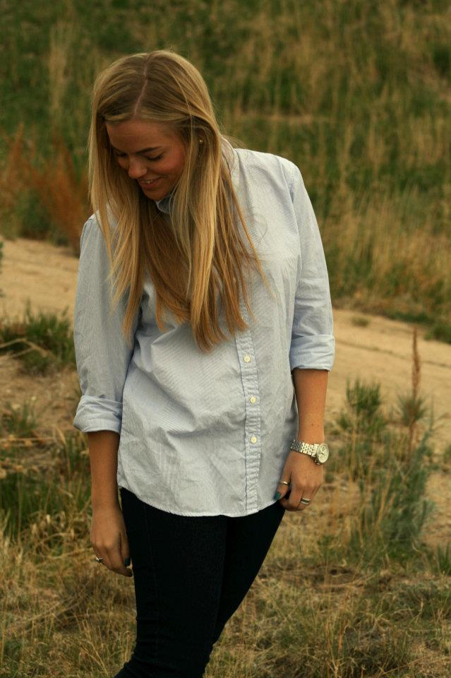 J Crew Button Down & Jeans