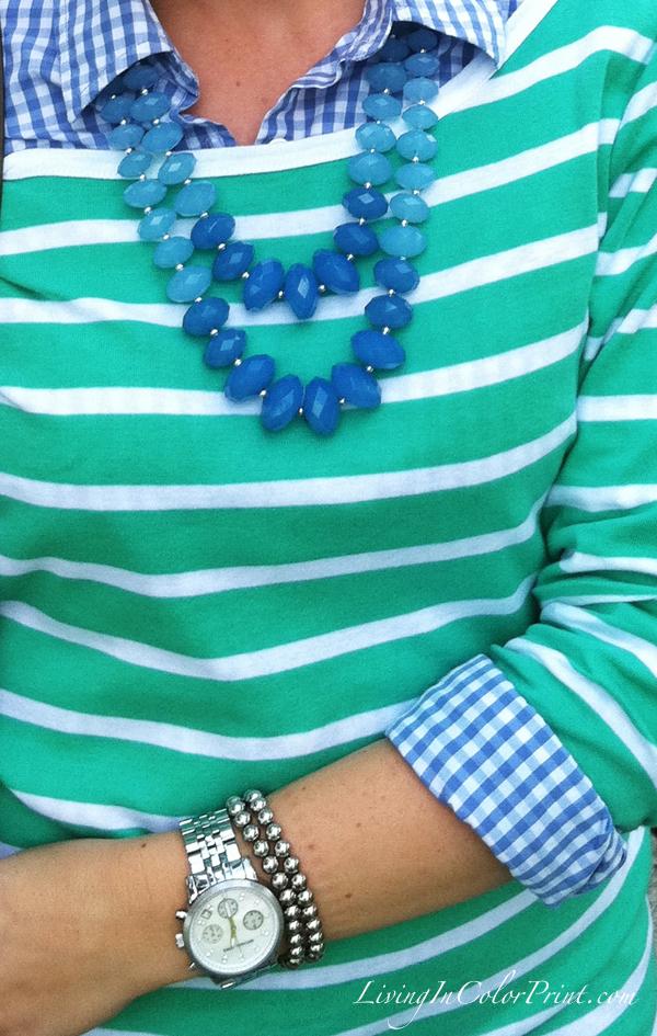 Blogger mint details, playful pairings