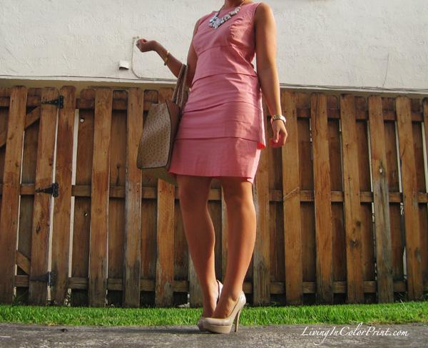 Swing Dress in Santorini2