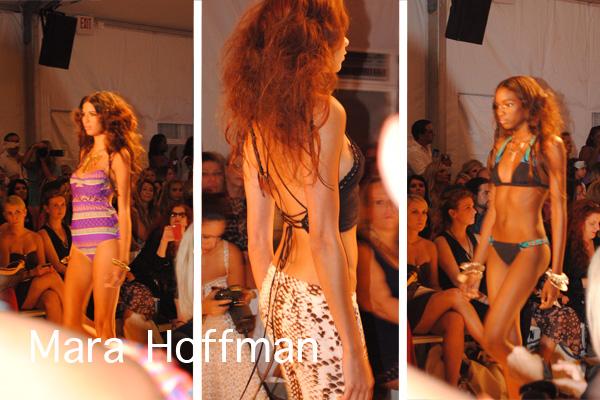 Mara Hoffman runway show at Swim Week Miami