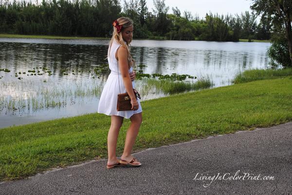 florida state gameday fashion, garnet bow by E. olson designs