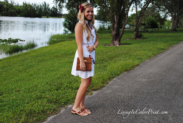 Garnet and gold outfit, blogger outfit for gameday