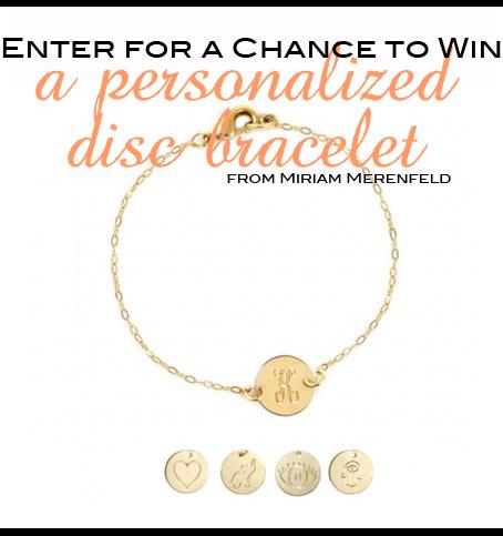 miriam merenfeld jewelry giveaway, blog jewelry giveaway