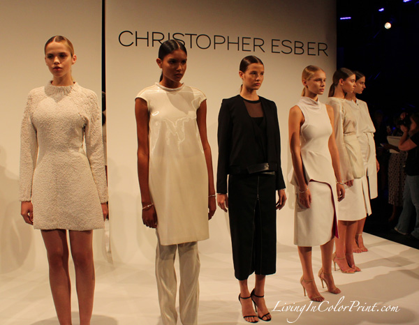 Christopher Esber NYFW Presentation at Lincoln Center, S/S 2013