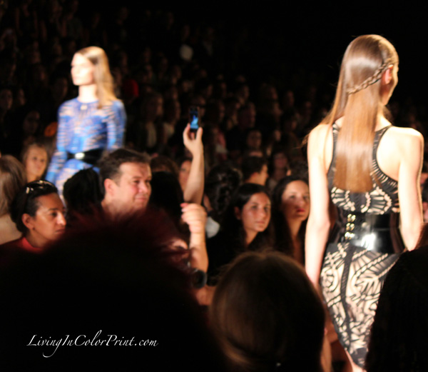 Herve Leger by Max Azria at NYFW S/S 2013
