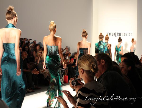 Katya Leonovich at NYFW S/S 2013 collection