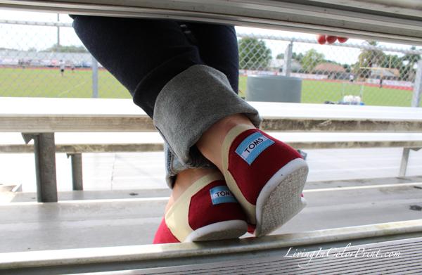 FSU Seminole Toms, Toms shoes