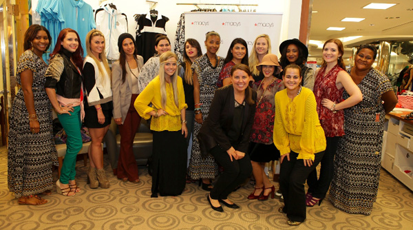 Blogger preview for Nicole Richie at Macy's, blogger event at Macy's Aventura