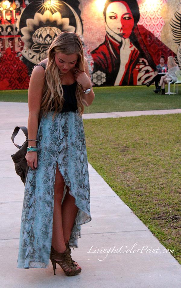 Dusk in Wynwood, Dinner at Wynwood Walls, Miami fashion blogger