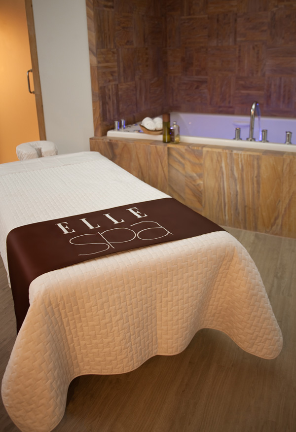 ELLE Spa massage room
