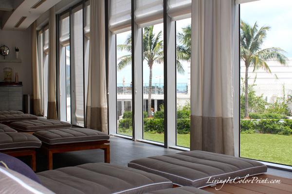 Blogger spa day at Eden Roc hotel Miami, ELLE Spa Review