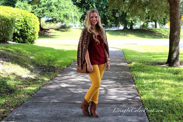 FSU garnet and gold outfit, FSU gameday fashion, Florida State Seminoles