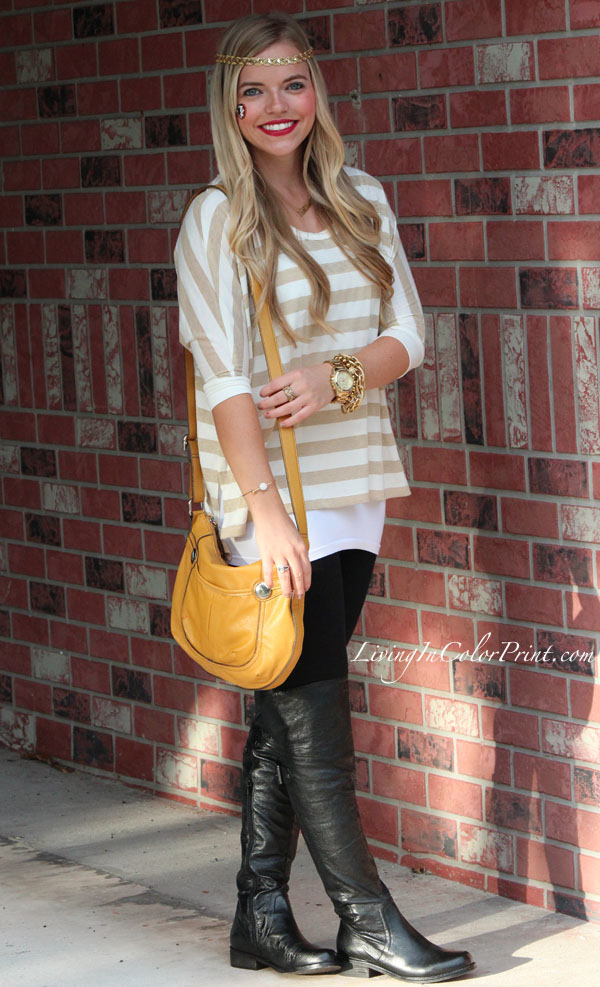 FSU fashion, FSU gameday outfit, blogger gameday outfit, FSU style