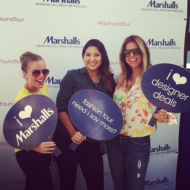 Marshalls FabFoundTour with Carmen and Maria, Marshalls Fashion Tour