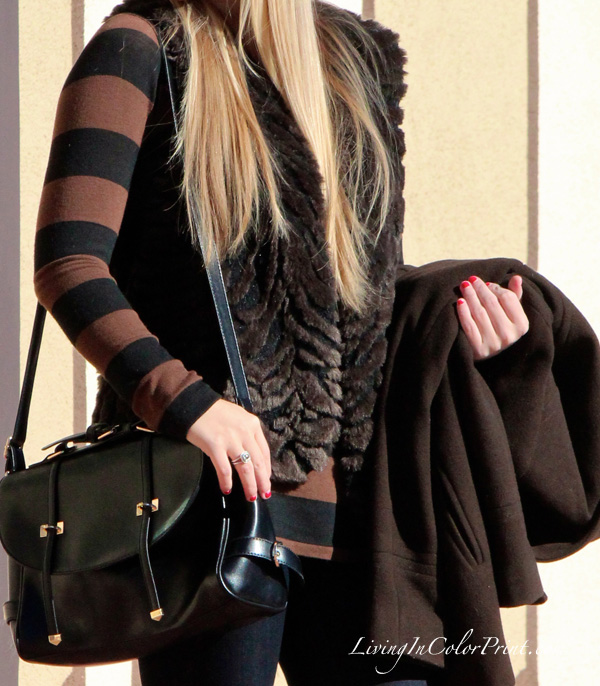 Black + Brown outfit, how to wear black and brown together, blogger ootd, miami fashion blogger, black + brown for fall