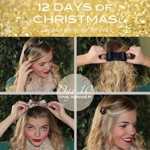 France Luxe Hair Accessories Giveaway