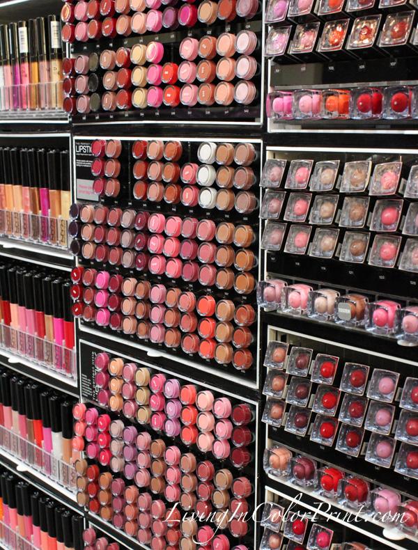 NYX cosmetics, visiting NYX headquarters