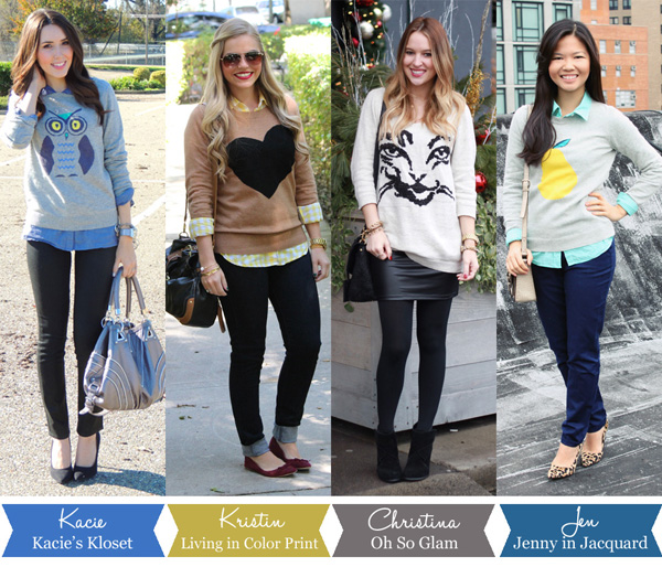 Style Collab - Graphic Sweaters, 4 Ways to Wear, 4 Ways to Wear Graphic Sweaters