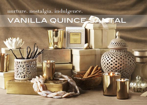 Caldrea Vanilla Quince Santal