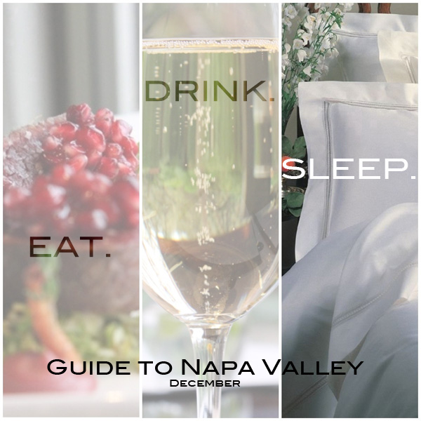 Guide to Napa Valley: SLEEP.