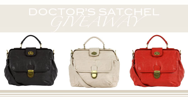 Doctor's Satchel giveaway