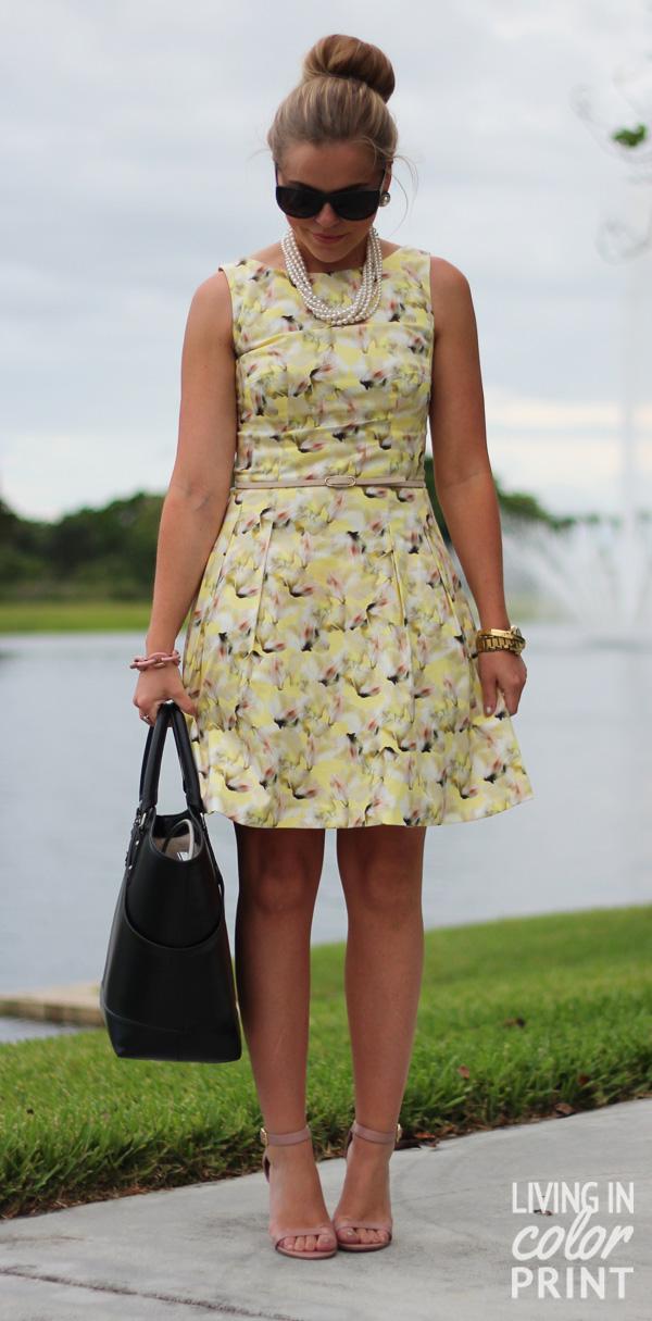 Dress for Summer: Floral // Living In Color Print