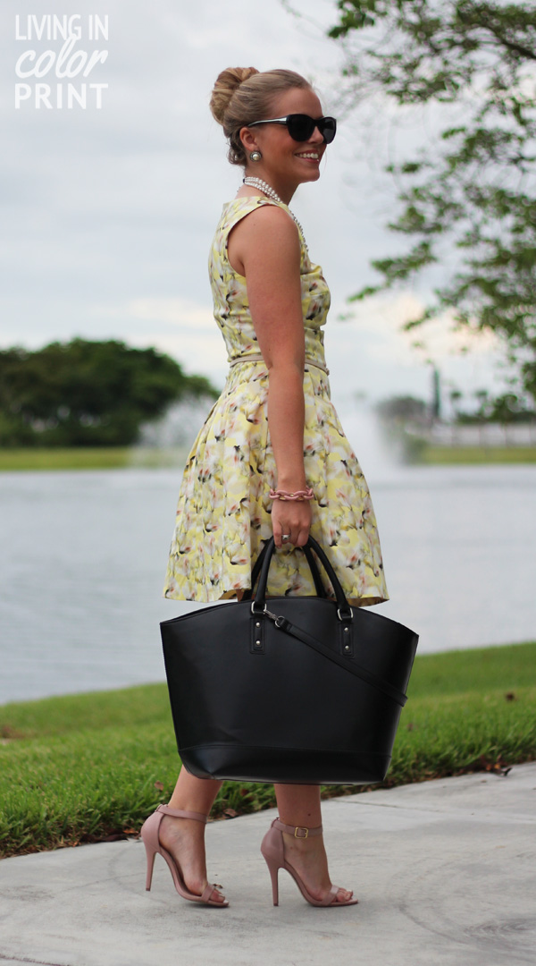 Dress for Summer: Floral // Living In Color Print