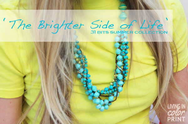 The Brighter Side of Life // Living In Color Print