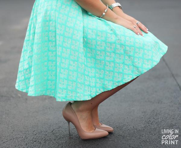 Dress for Summer: Jacquard // Living In Color Print
