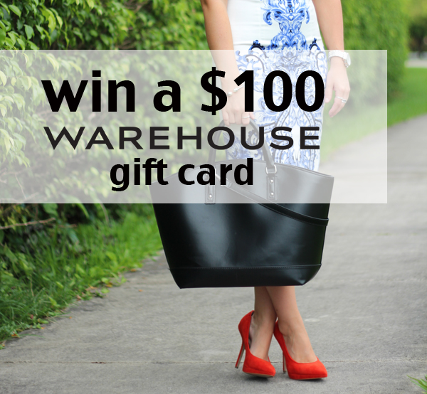 Warehouse Giveaway
