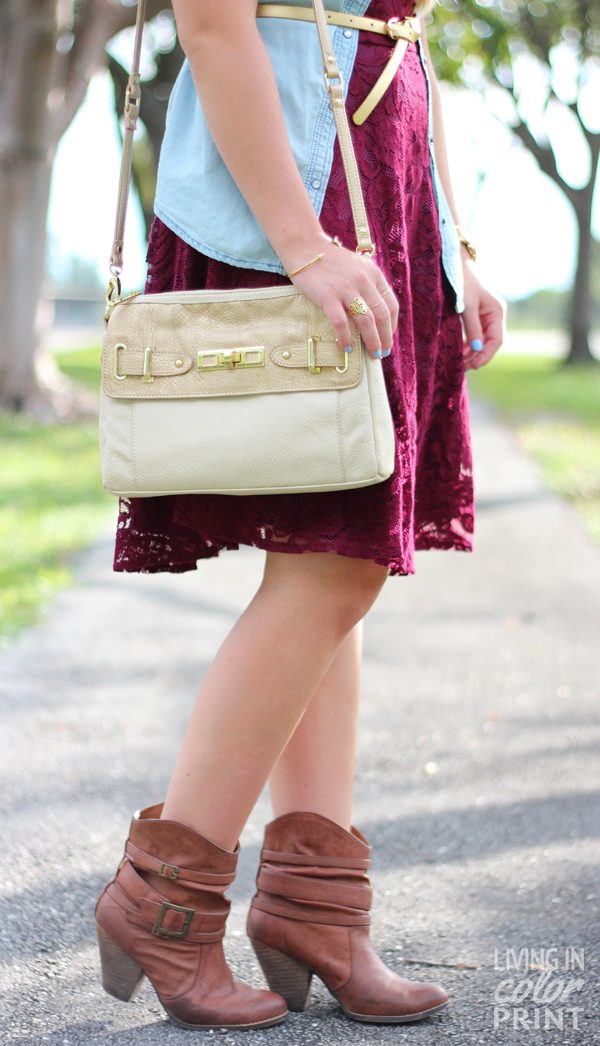 Garnet Lace | Living In Color Print