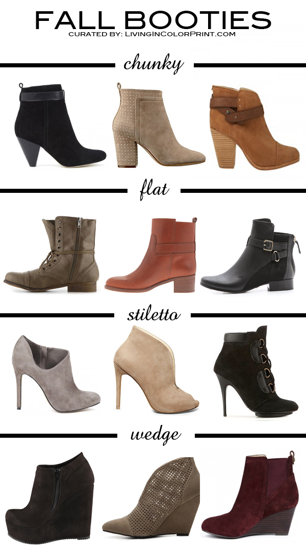 Trending Tuesday | Fall Booties 2013