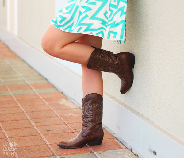 When in Texas | Living In Color Print
