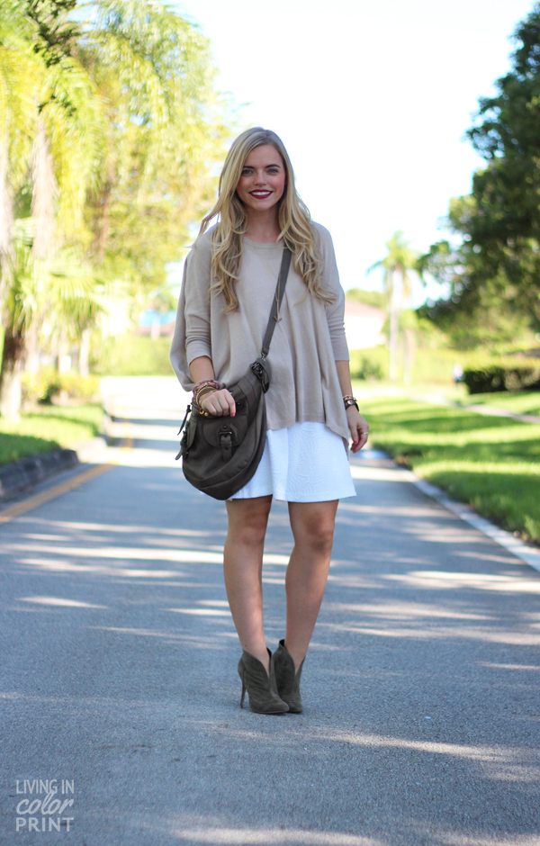 Falling for Fall | Olive Booties