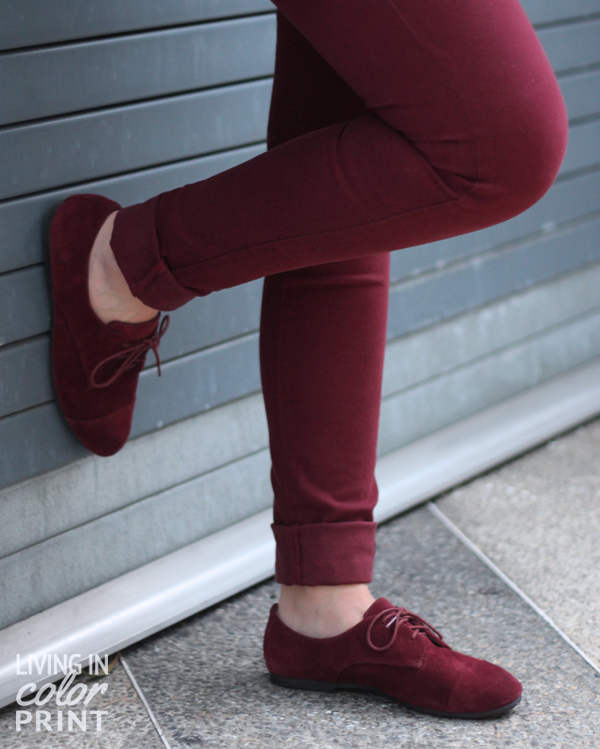 Garnet Oxfords