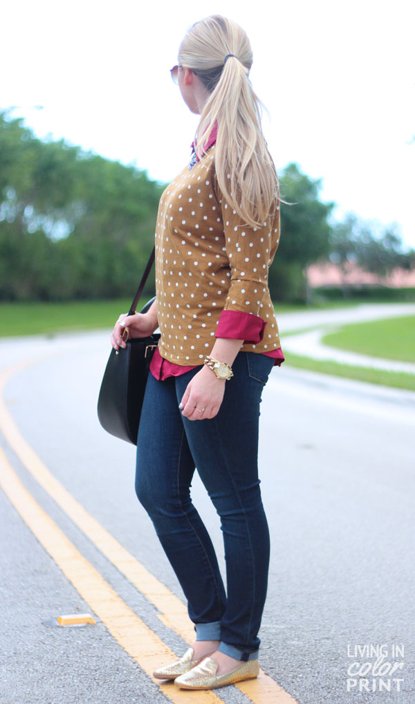 Cranberry + Tan | Living In Color Print