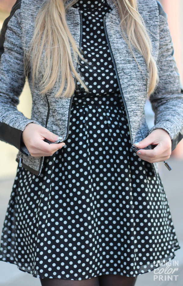 Tweed + Dots | Living In Color Print