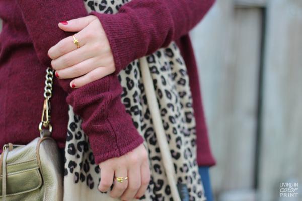 Garnet Sweater   Living In Color Print
