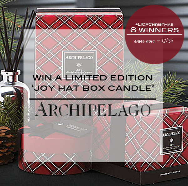 Archipelago Candle Giveaway2