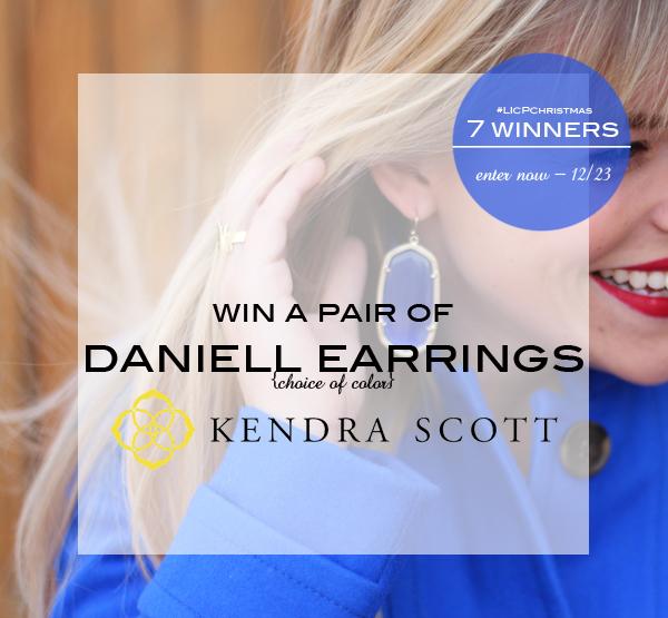 Kendra Scott earring giveway