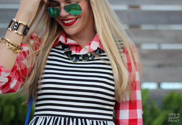 Stripes + Check | Living In Color Print