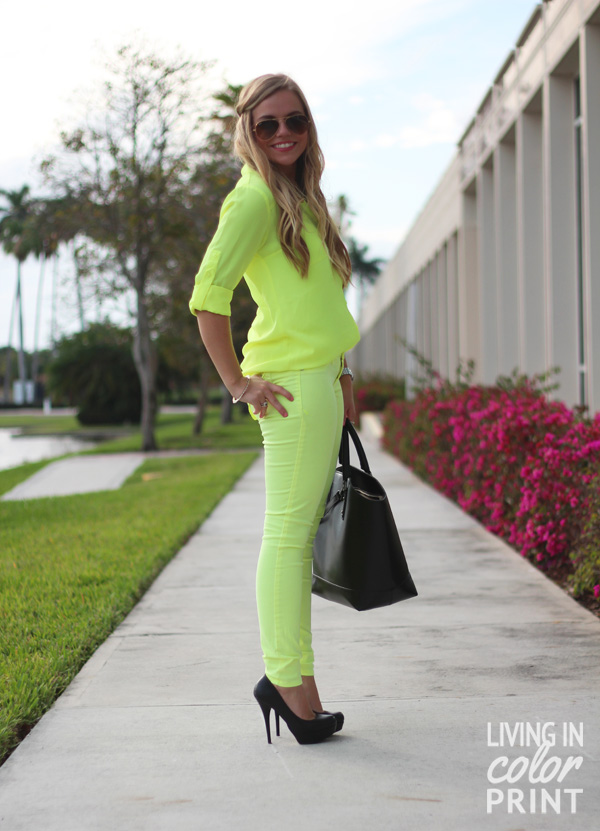 Neon on Neon | Living In Color Print