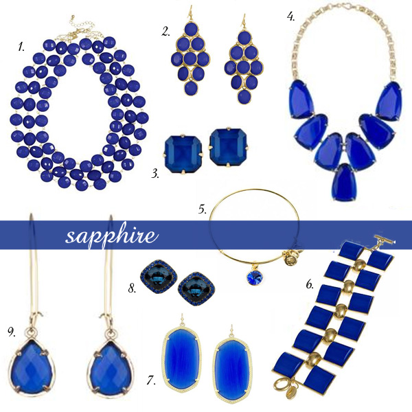 Gift Guide for the Bauble Fein | Sapphire