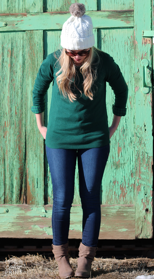 Rustic Green | Living In Color Print
