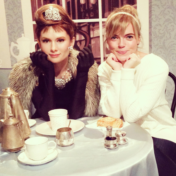 Sitting w. Audrey | Madame Tussauds