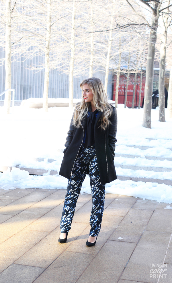 NYFW | Patterned Pants